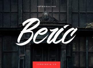 Beric Script Font