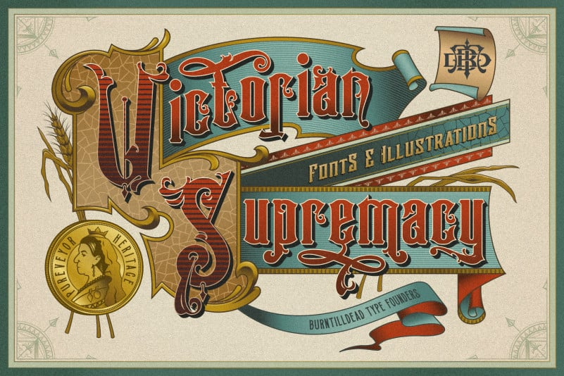 Victorian Supremacy Display Font