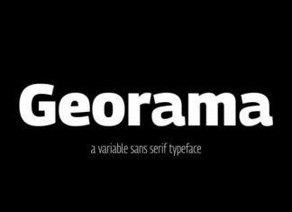 Georama Sans Serif Font