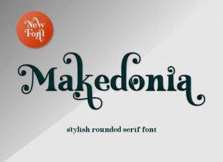 Makedonia Serif Font