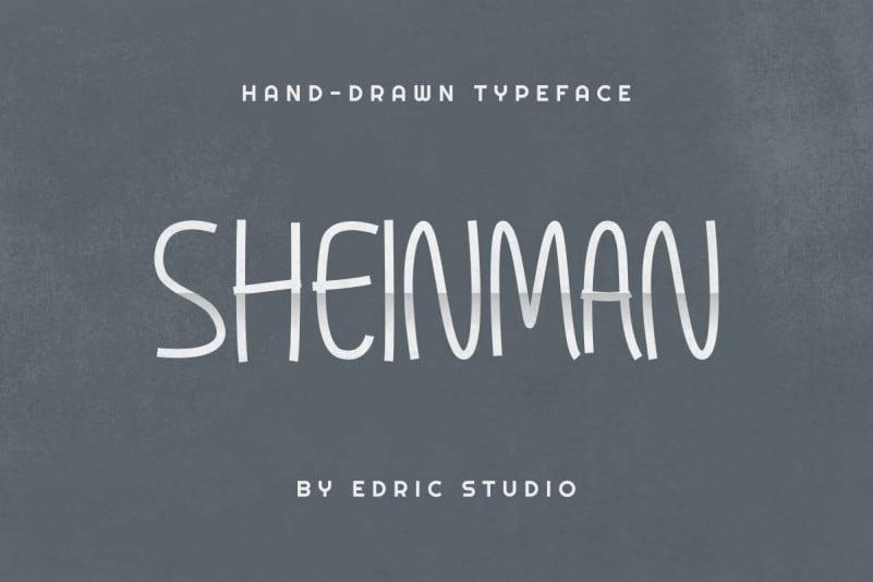 Sheinman Hand Drawn Font