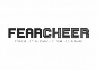 Fearcheer Sans Serif Font