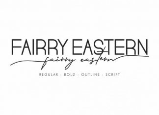 Fairry Eastern Sans Serif Font Duo