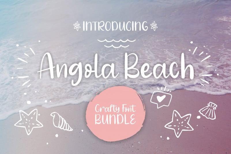 Angola Beach Script Font
