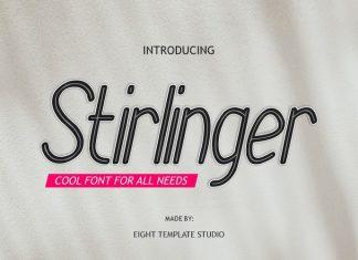 Stirlinger Sans Serif Font