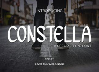 Constella Script Font