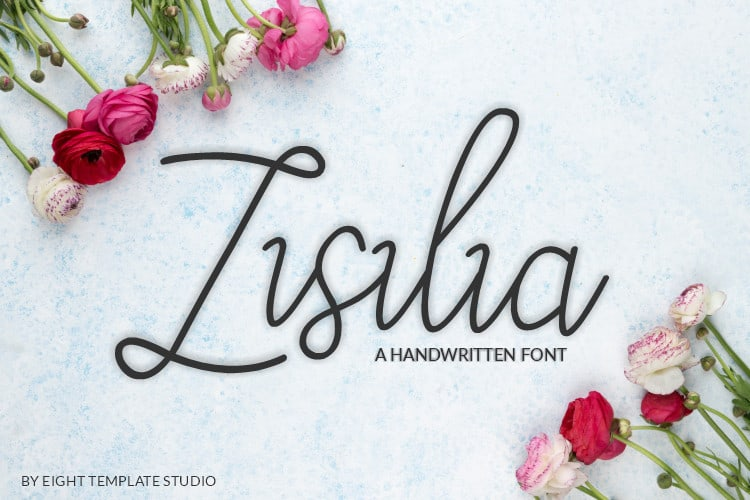 Zisilia Handwritten Font