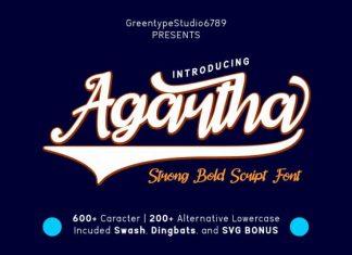Agartha Script Font