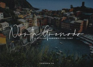 North Grenada Handwritten Font