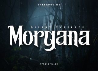 Morgana Display Font