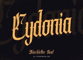 Cydonia Blackletter Font