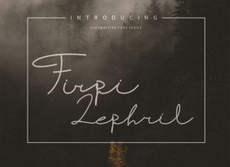Firpi Lephril Handwritten Font