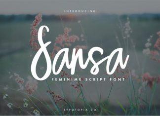 Sansa Script Font