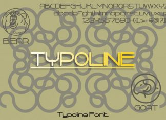 Typoline Sans Serif Font