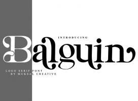 Balguin Serif Font