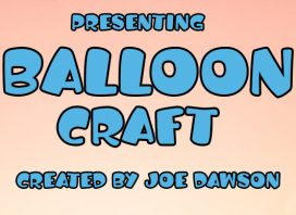 Balloon Craft Display Font