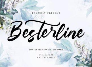 Besterline Script Font