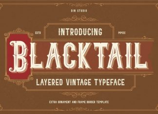 Blacktail Blackletter font