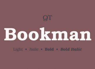 Bookmann Serif Font