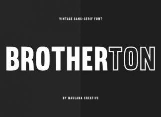 Brotherton Sans Serif Font