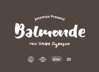 Balmonde Script Font