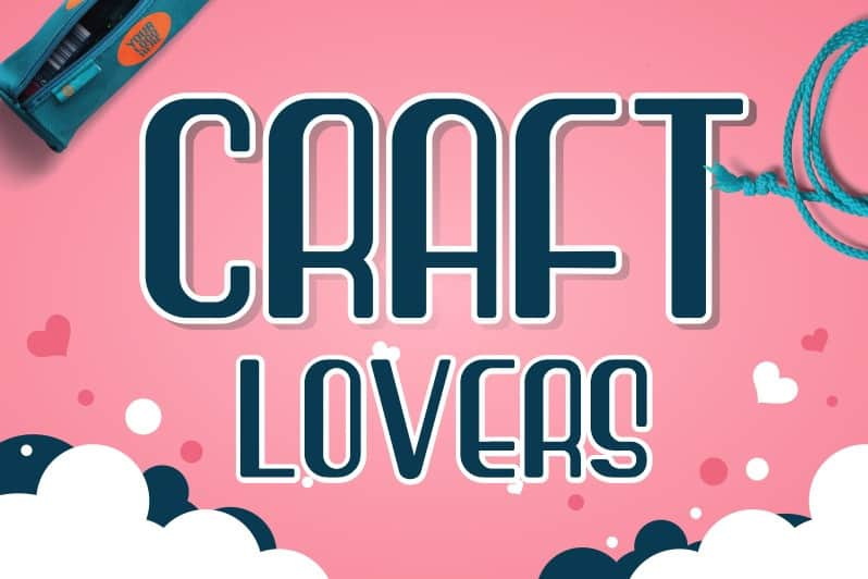 Craft Lovers Display Font