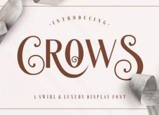 Crows Sans Serif Font
