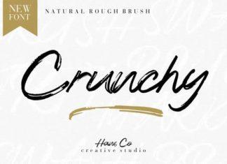 Crunchy Brush Font