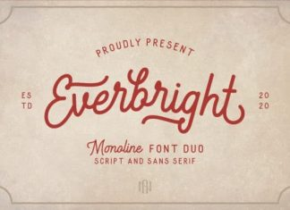 Everbright Display Font