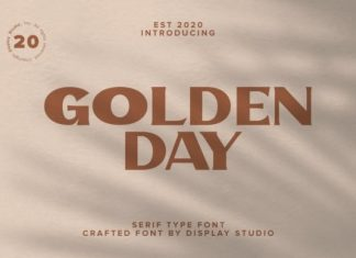 Golden Day Serif Font