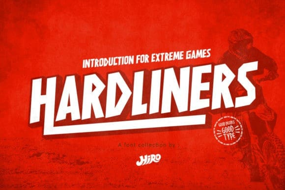 Hardliners Display Font