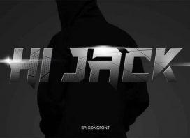 Hi Jack Display Font