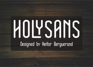 Holy Sans Serif Font