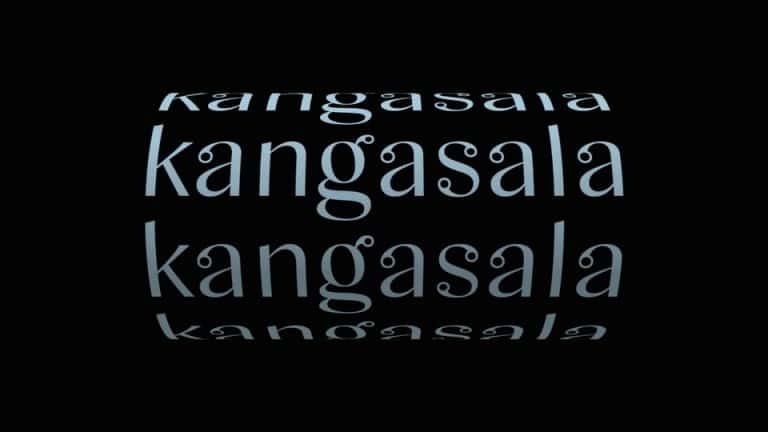 Kangasala Sans Serif Font
