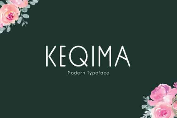 Keqima Sans Serif Font