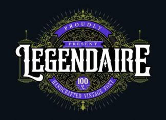Legendarie Blackletter Font