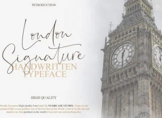 London Signature Font
