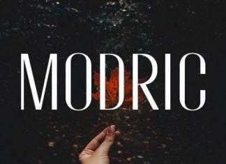 Modric Sans Serif Font