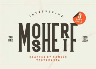 Mosherif Display Font