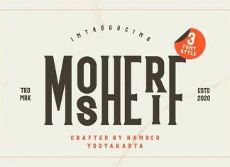 Mosherif Display Font