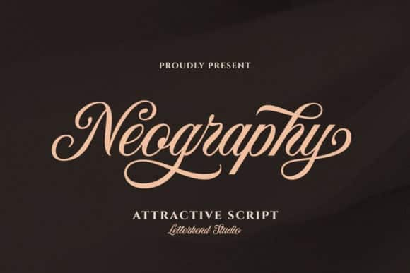 Neography Calligraphy Font