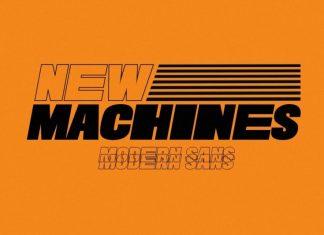 New Machines Sans Serif Font