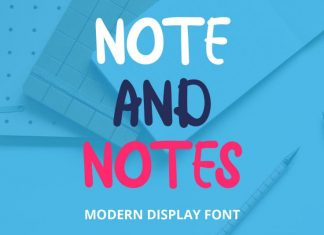 Note and Notes Display Font