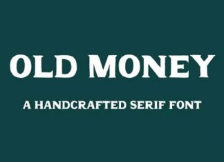 Old Money Display Font