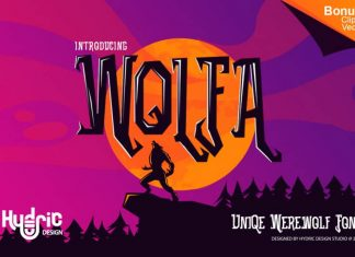 Wolfa Display Font