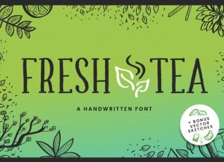 Fresh Tea - A fancy handwritten font