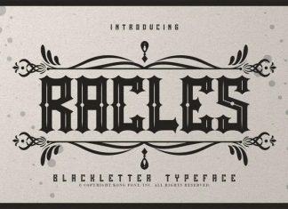 Rackles Blackletter Font
