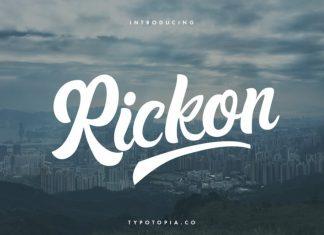 Rickon Script Font