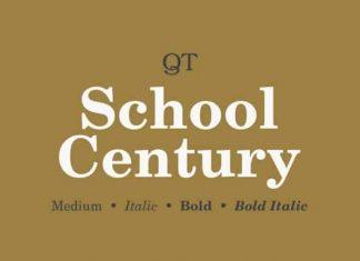 School Century Serif Font