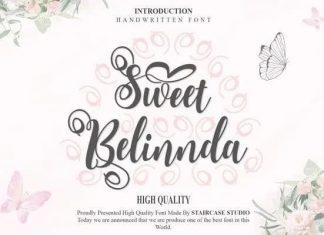 Sweet Belinnda Script Font